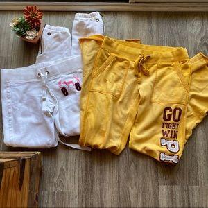 Bundle of 2 VS PINK Sweat Lounge Pants XS